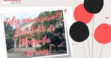 Parabéns Etec Júlio de Mesquita – 85 anos!